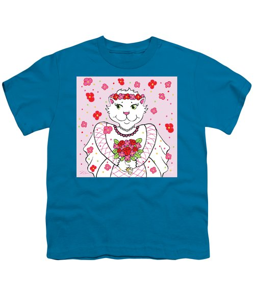 Kitty Bride Youth T-Shirt