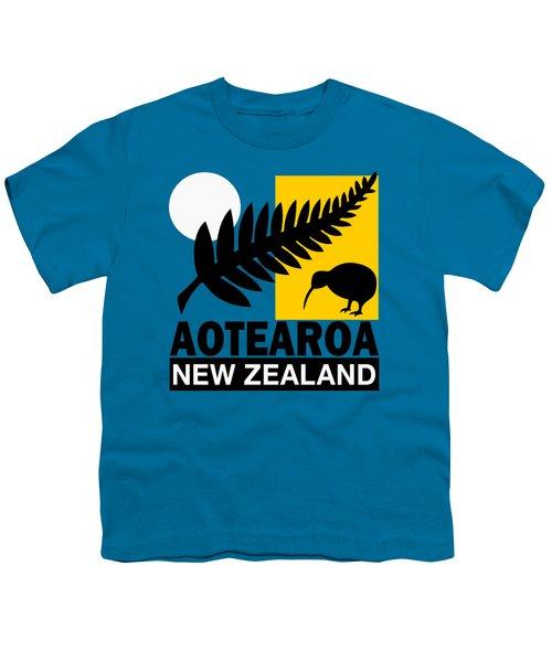 Nz-new Zealand Youth T-Shirt