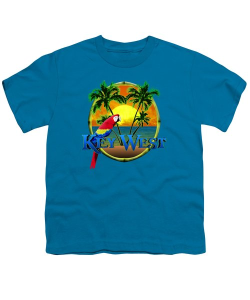 Parrot Of Key West Youth T-Shirt