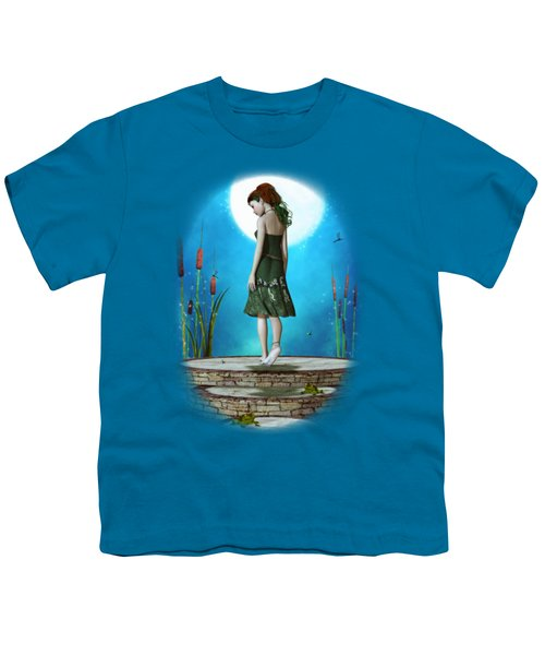 Pond Of Dreams Youth T-Shirt by Brandy Thomas