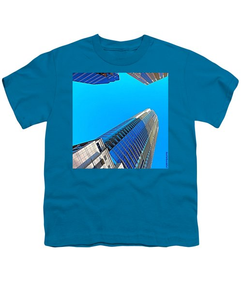 Reach For The #sky. #keepaustinweird Youth T-Shirt