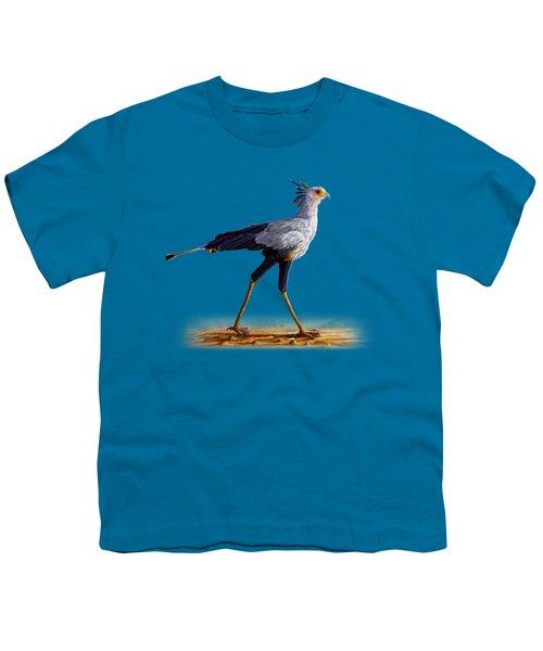 Secretary Bird Youth T-Shirt