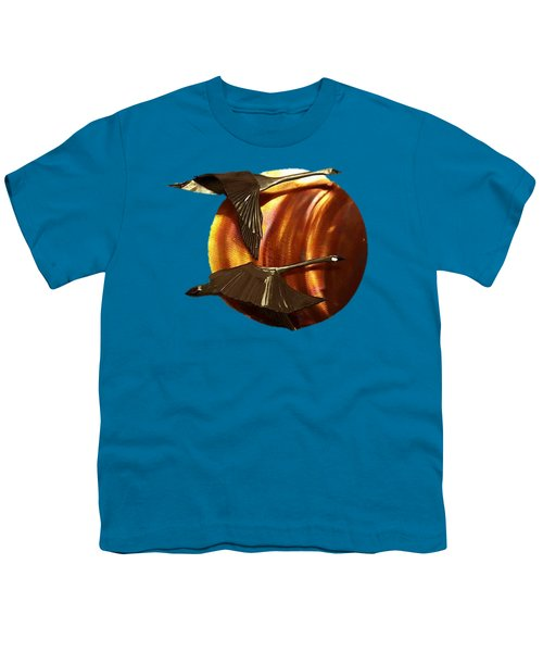 Sunrise Youth T-Shirt by Troy Rider