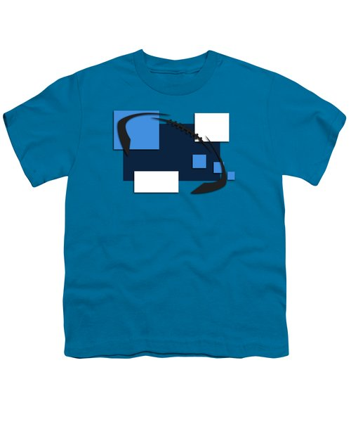 Tennessee Titans Abstract Shirt Youth T-Shirt by Joe Hamilton