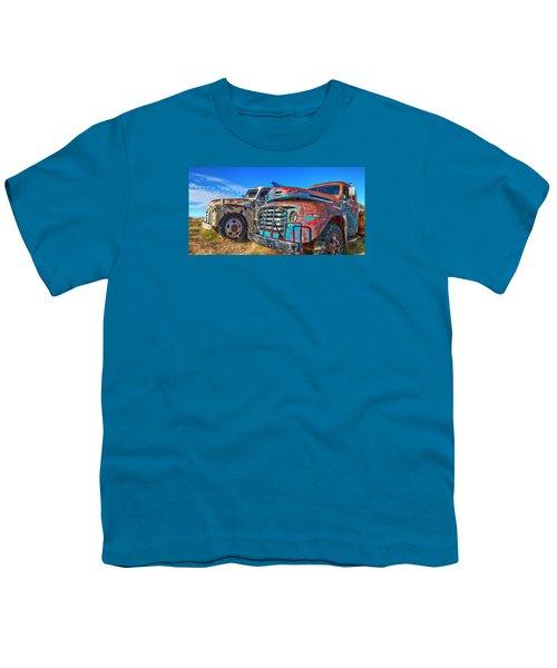 Two Trucks Youth T-Shirt