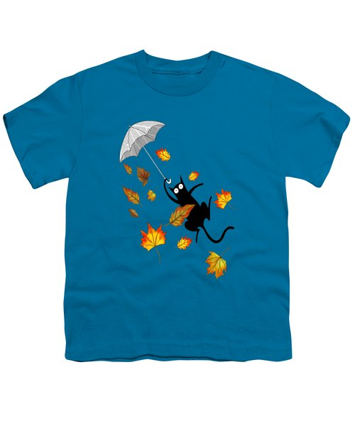 Umbrella Youth T-Shirt by Andrew Hitchen
