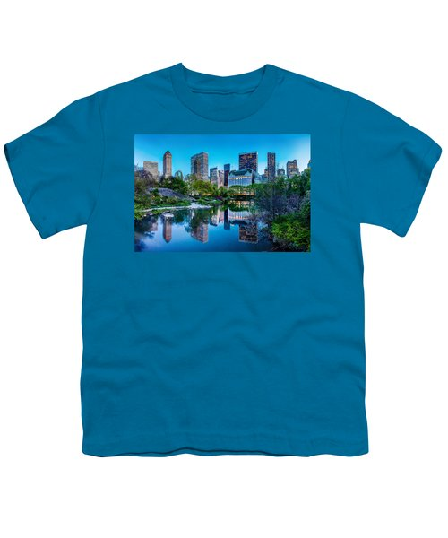 Urban Oasis Youth T-Shirt by Az Jackson