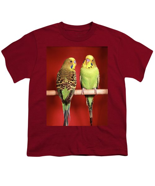1960s Pair Of Two Yellow Green Youth T-Shirt