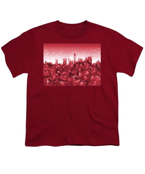 Austin Skyline Geometry Youth T-Shirt