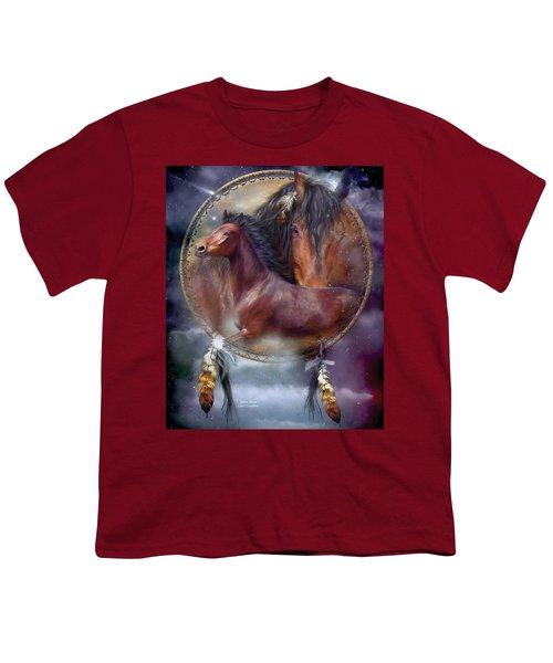 Dream Catcher - Spirit Horse Youth T-Shirt