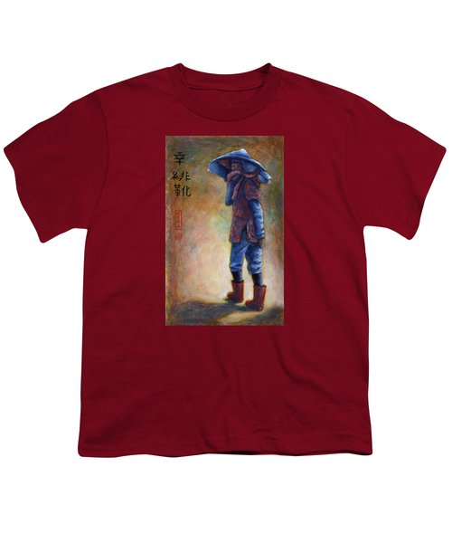 Lucky Red Boots Youth T-Shirt