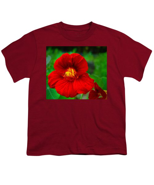 Day Lily Youth T-Shirt by Bill Barber