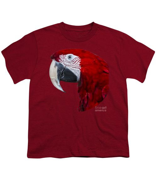 Red Macaw Youth T-Shirt