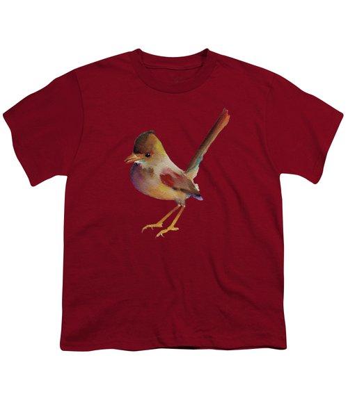Wren Youth T-Shirt by Francisco Ventura Jr