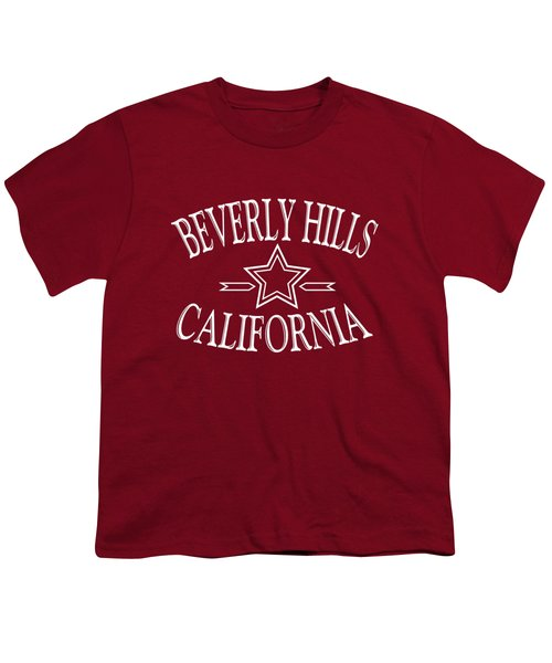 Beverly Hills California Design Youth T-Shirt