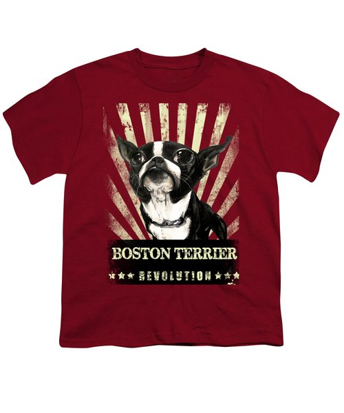 Boston Terrier Revolution Youth T-Shirt