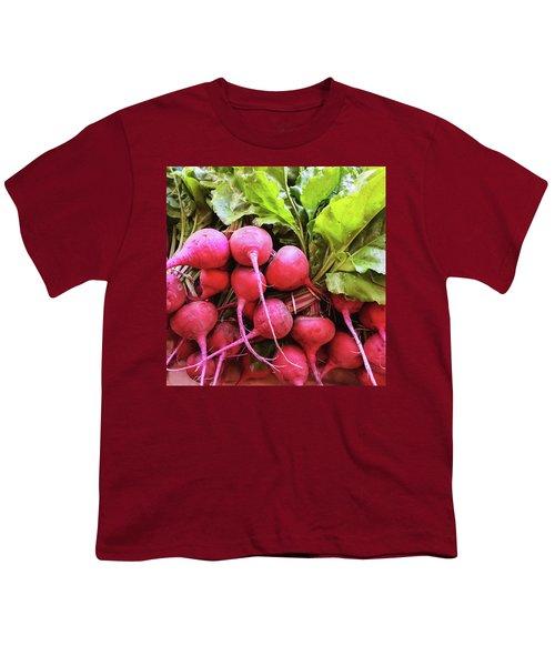 Bright Fresh Radish Youth T-Shirt