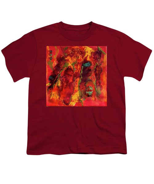 Broken Mask Encaustic Youth T-Shirt