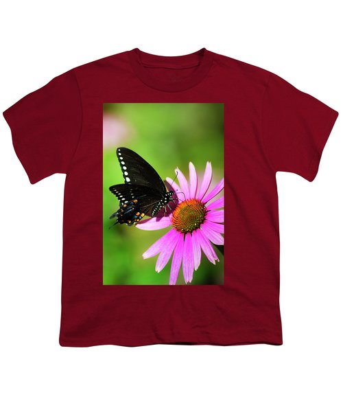 Butterfly In The Sun Youth T-Shirt