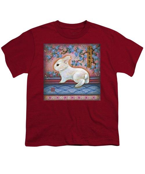 Carpe Diem Rabbit Youth T-Shirt