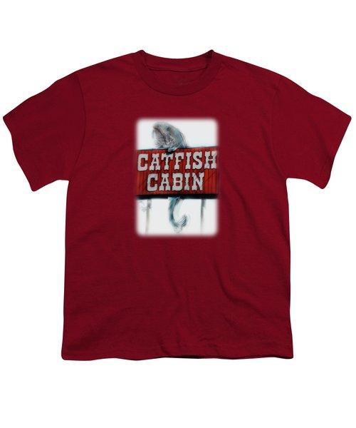 Catfish Cabin  Youth T-Shirt by Anita Faye