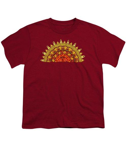 Celtic Dawn Youth T-Shirt by Kristen Fox