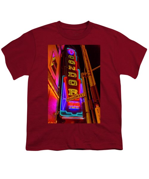 Condor Neon On Broadway Youth T-Shirt