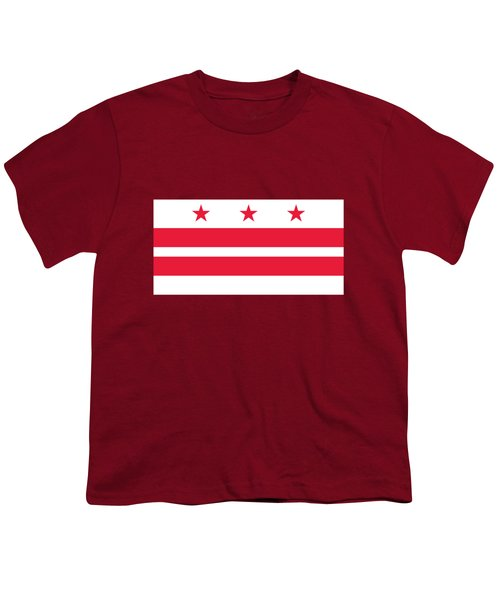 District Of Columbia Youth T-Shirt by Frederick Holiday
