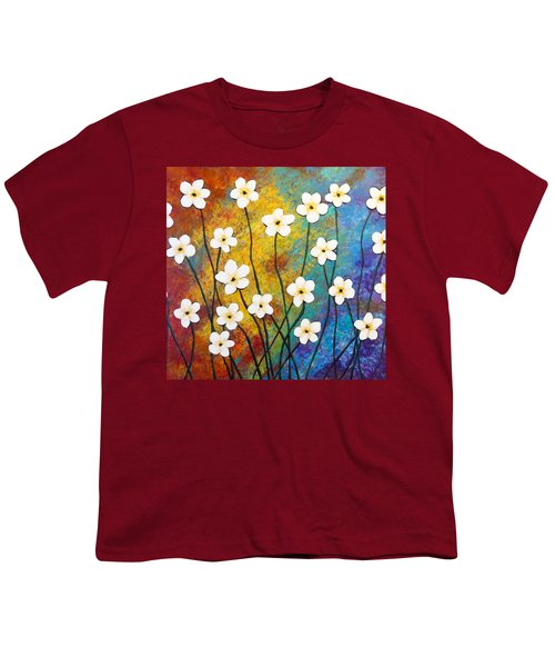 Frangipani Explosion Youth T-Shirt