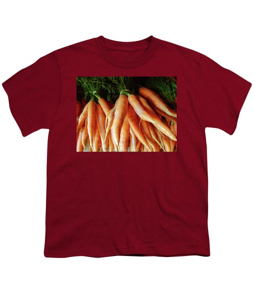 Fresh Carrots From The Summer Garden Youth T-Shirt