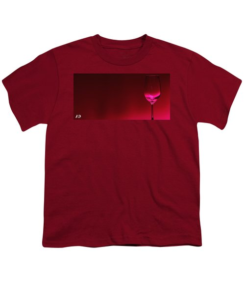 Glass Of Wine Youth T-Shirt