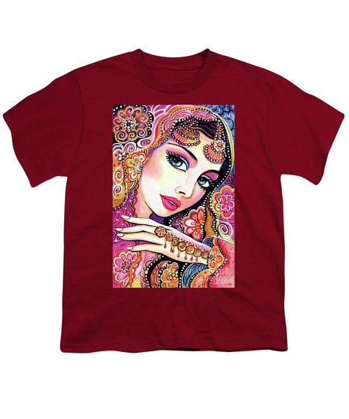 Youth T-Shirt featuring the painting Kumari by Eva Campbell