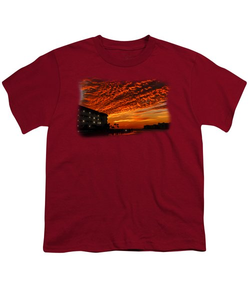 Marco Sunset No.9 Youth T-Shirt by Mark Myhaver