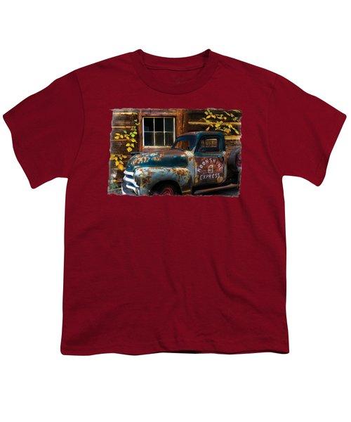 Moonshine Express Bordered Youth T-Shirt