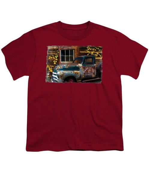Moonshine Express Bordered Youth T-Shirt
