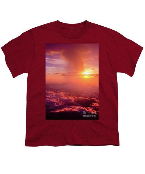 Mountain View Youth T-Shirt by Tatsuya Atarashi