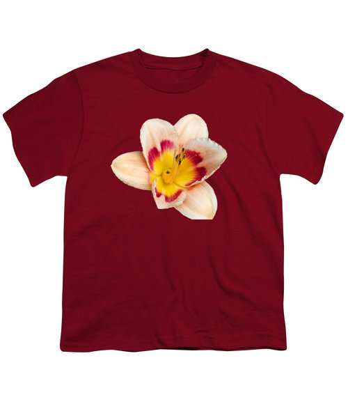Orange Yellow Lilies Youth T-Shirt by Christina Rollo