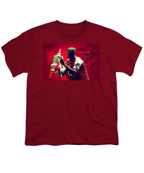 Patrick Vieira Youth T-Shirt by Semih Yurdabak