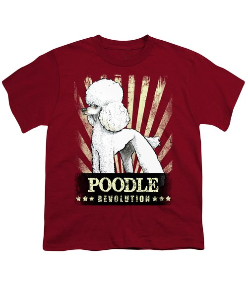 Poodle Revolution Youth T-Shirt
