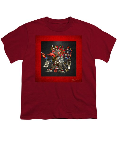 Quetzalcoatl - Codex Borgia Youth T-Shirt