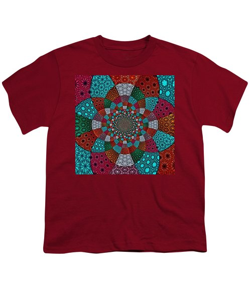 Quilted Glasswork Youth T-Shirt