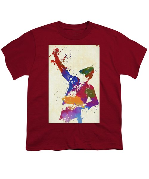 Scott Weiland Paint Splash Youth T-Shirt
