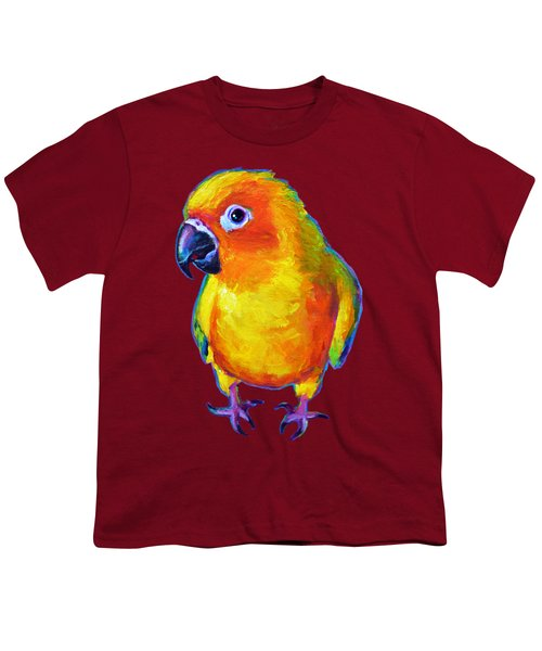 Sun Conure Parrot Youth T-Shirt