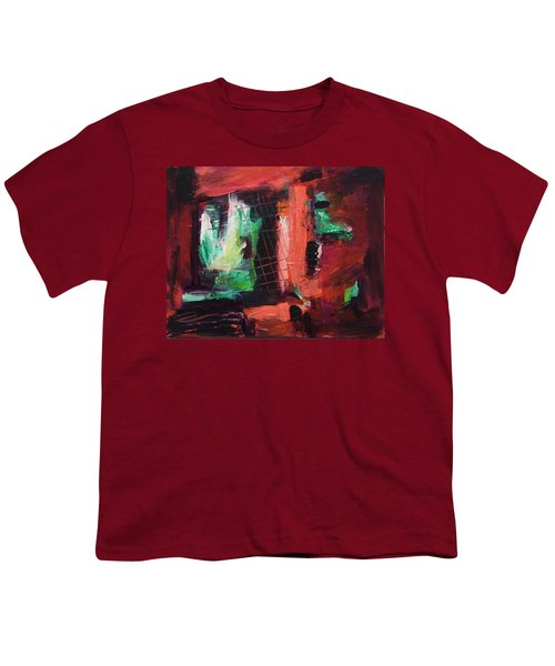 Window Original Acrylic Painting Youth T-Shirt
