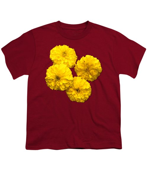 Yellow Flowers Youth T-Shirt