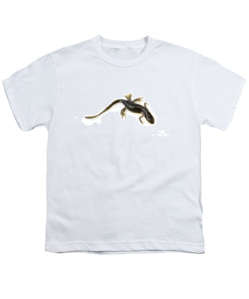 Mutated Eastern Newt Youth T-Shirt by Lawrence Lawry