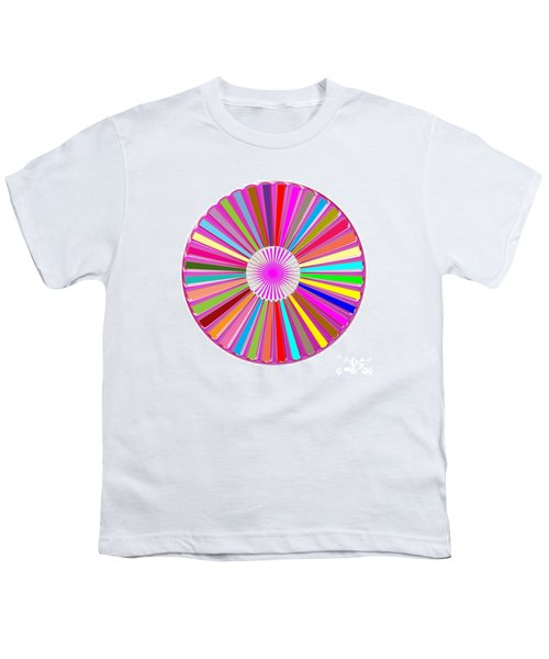 Colorful Signature Art Chakra Round Mandala By Navinjoshi At Fineartamerica.com Rare Fineart Images  Youth T-Shirt