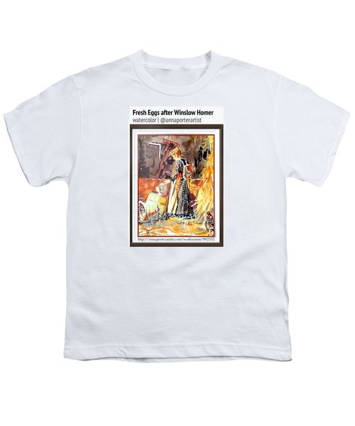Study Of Fresh Eggs After Winslow Youth T-Shirt