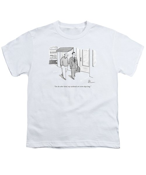 On The Other Hand Youth T-Shirt