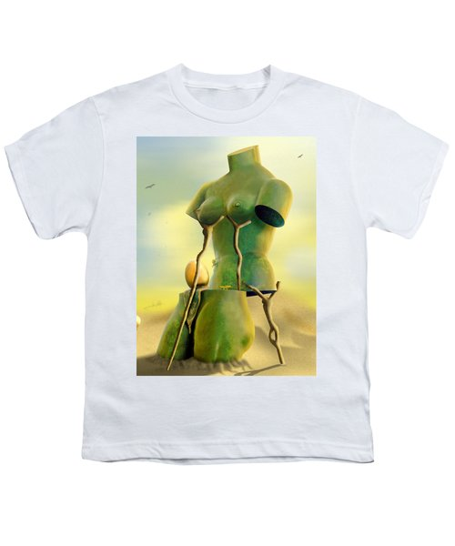 Crutches Youth T-Shirt